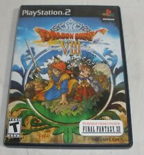 Dragon Quest VIII: Journey of the Cursed King (Sony PlayStation 2, 2005) CIB