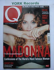Q MAGAZINE - March 1998 - Madonna / Bands of 1998 / Goldie / Simple Minds