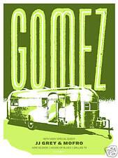 Gomez June 2009 Limited Edition Concert Gig Poster