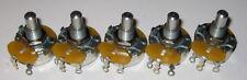 5 X Potentiometers 25 Ohm 5 Watt Wirewound Linear Potentiometers