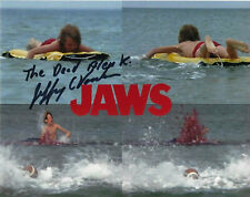 Jeffrey Voorhees Alex Kintner Jaws hand signed 8X10 photo with Coa autograph