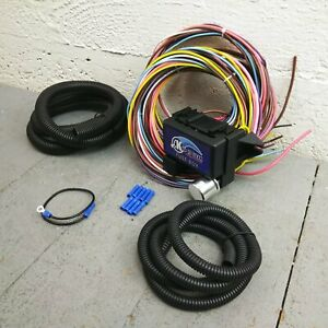 1971 - 1991 Ford Bronco 8 Circuit Wire Harness fits painless new complete KIC