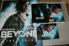 Beyond two souls  PC  BOX + Artbook + Poster