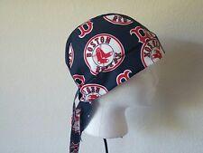 Boston Red Sox Welding Welders Hat Surgeon Caps Doo Rag Skullcap Do Rag Bandana