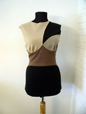 MISSONI Color Block Wool Sleeveless Knit Top - size 40 IT - Small 4