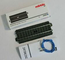NEW MARKLIN 24994 SCHALT-GLEIS GERADE 3RD RAIL STRAIGHT CIRCUIT C-TRACK 94.2 mm