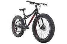 Mountainbike Hardtail Fatbike 26'' Alu SNW2458 Schwarz 24 Gänge RH 46 cm 380M