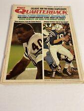 Pro Quarterback Magazine, July 1971, Gayle Sayers, Johnny Unitas, Chicago Bears