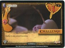 Buffy CCG TCG Angels Curse Unlimited Edition Card #1 Bad Eggs