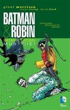 Batman Must Die! Vol. 3 by Grant Morrison (2011, Hardcover, Deluxe)