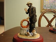 Emmett Kelly Jr Ready Go Go Signed #4836 Of 7500 With Base 11 1/2""