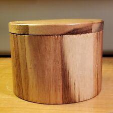 Wooden Salt Box with Swivel Cover Better Homes & Garden for Salt, Pepper & Other