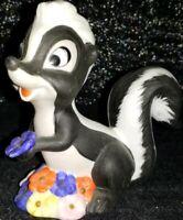 Vintage Flowers the Skunk, Bambi (Walt Disney Productions) Porcelain