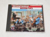 Pops Concert by Arthur Fiedler Boston Pops (CD, 1987, RCA Corporation)