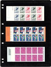 Sweden Stamps. Booklets.