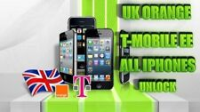 iPhone 4 / 4S / 5 / 5C / 5S / 6 / 6+  Unlock IMEI EE / Orange / Tmobile / UK