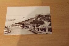 SUNDERLAND POSTCARD - SEABURN PROMENADE about 1890