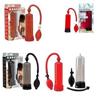 AKTION ! Vakuum Potenzpumpe Penispumpe 7te Power Enlarger 2 Farben Rot o.Schwarz