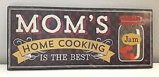 Kitchen Wall Art * Mom's Home Cooking * Farmhouse Style * Country * Wooden Sign