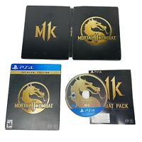 Mortal Kombat 11 Premium Edition (Sony PlayStation 4, 2019) PS4 COMPLETE
