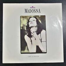 "MADONNA Like A Prayer 7"" Single Vinyl [EX/VG] 1989 GERMANY"