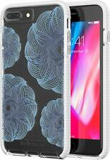 Tech21 iPhone 8 Plus & 7 Plus Evo Check Evoke Edition Case Cover - Clear Blue