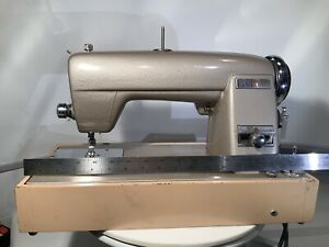 RARE Vintage Sears Kenmore Model 49 Rotary Sewing Machine w/ Case & Orig. Pedal