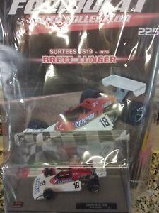 "Surtees TS19' Campari "" Italian Gp Brett Lunger 1976 Formula 1 Car C. #225 1:43"