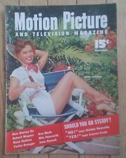 MOTION PICTURE MAGAZINE DECEMBER 1953 DEBBIE REYNOLDS SHOULD GO STEADY NEW STORY