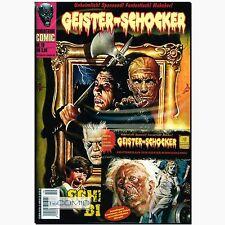 Geister-Schocker 19 Schreckensbilder Romantruhe HORROR COMIC + Hörspiel CD