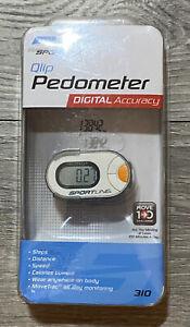 Sportline 310 Qlip Pedometer Digital accuracy Step Counter