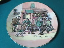 "Royal Doulton Antique Collector Plate Roger, Solem Cobler 10 1/2"" Tc1052"