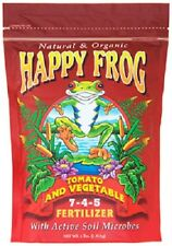 Hydrofarm, Foxfarm, 4 LB, Happy Frog, Tomato & Vegetable Fertilizer