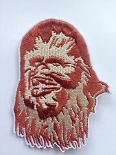 STAR WARS CHEWY CHEWBACCA Quality Iron On SCI FI  Patch Movie Cosplay Costume