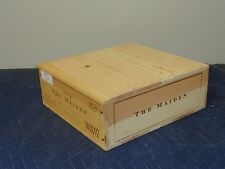 "The Maiden Napa Wine Crate holds 3 btt size 5""x12""x13"""
