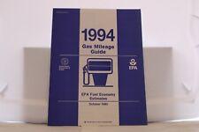 "1994 Ford Gas Mileage EPA Report 9"" x 11"" Mint"