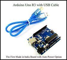Arduino Uno R3 Compatible Development Board ATmega328P & CH340G with USB Cable
