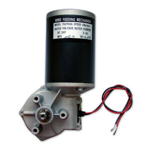 24V L Feeder motor 2RA / 4RA / 4RN MIG  Roller Welding wire drive feed MAG WIG T