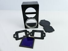 ORIGINAL MAMIYA 135MM TLR TWIN LENS HOOD WITH BODY CAP AND FRAMES  I