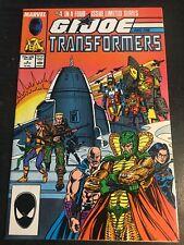 Gi-joe And The Transformers#4 Incredible Condition 8.5(1987) Serpentor App!