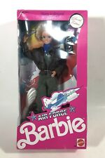 VTG 1990 Barbie Air Force Special Edition Mattel Stars Stripes 3360 New NIB