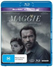 Brand New & Sealed - Maggie (Blu-ray, 2015) Arnold Schwarzenegger
