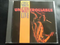 GREG  KIHN   -  LIVE  .... UNKIHNTROLLABLE  ,   CD  1991 ,  ROCK