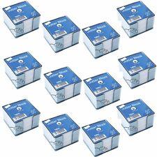 400 FOGLI MEMO jotter Blocco Titolare Cubo Trasparente quantità x 12