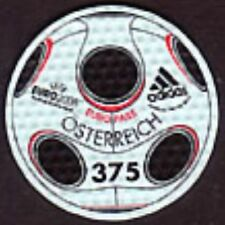 Austria 2008 Stamp Made of Authentic Football Material Europass 3.75 Unusual MNH