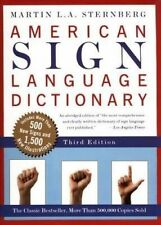 American Sign Language Dictionary by Martin L.A. Sternberg (Paperback, 1999)