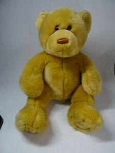 """2000 Animal Alley Toys R Us Brown Teddy Bear Plush 12"""" Sitting Stuffed"""
