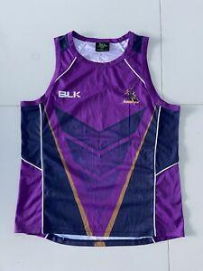NRL AUTHENTICS MELBOURNE STORM SINGLET SIZE L Rugby League