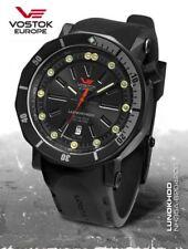 Vostok Europe Lunokhod 2 Automático nh35a-620 Versión negro incl. dos cintas