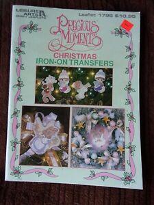 Precious Moments Christmas Iron-On Transfers  Leisure Arts Leaflet 1796